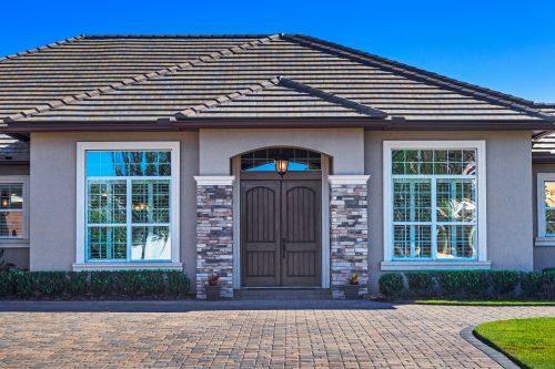 Orlando custom home exterior shot