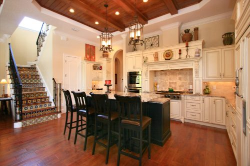 kitchen at new luxury home by Ayers, a custom home builder in Orlando
