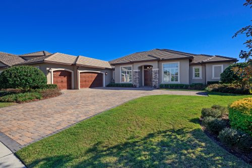 new residential custom home in the Orlando area by Ayers