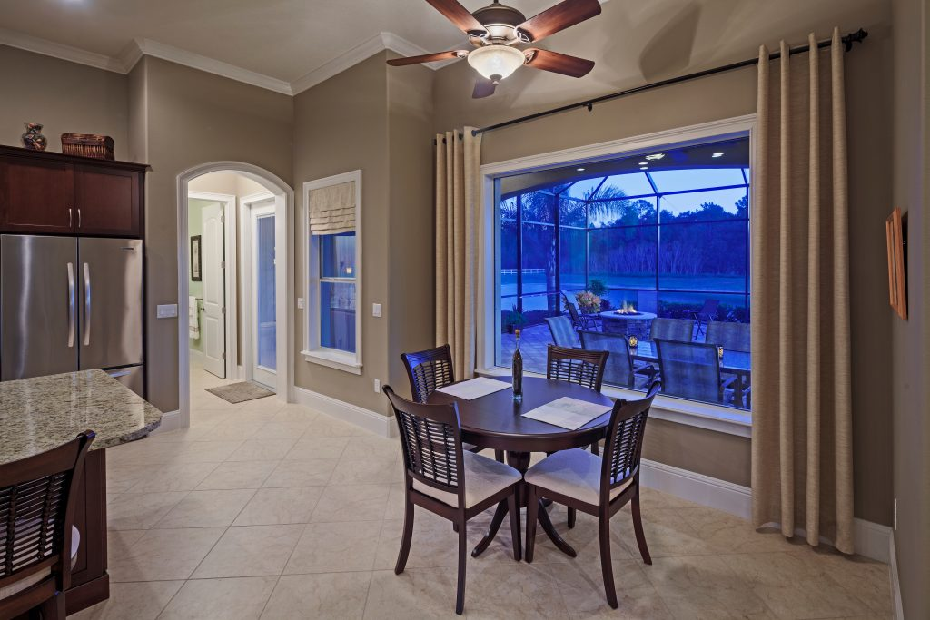 interior of residential home designed and built by Ayers Custom Homes
