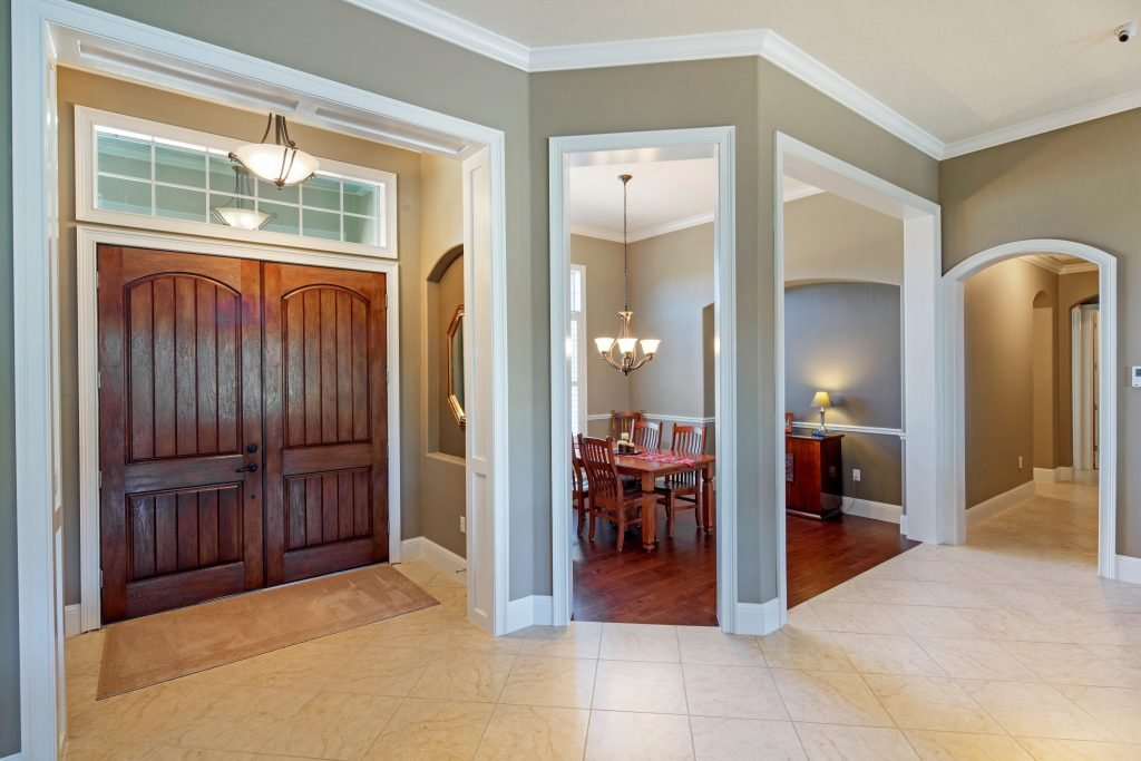 interior of custom residential home built by Ayers Homes