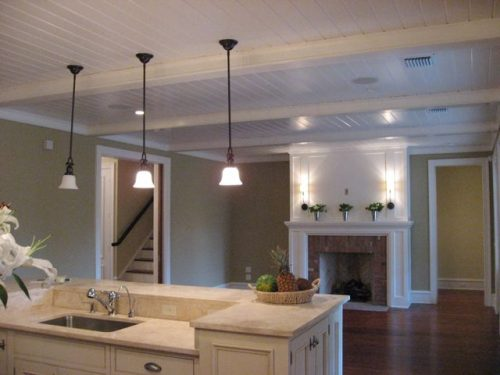 interior of Ayers custom home built in the Orlando area