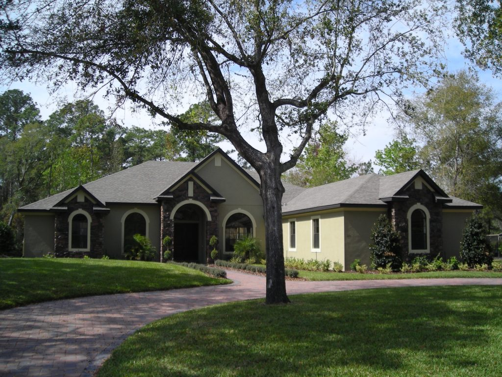 custom home by Ayers Homes, an Orlando home builder