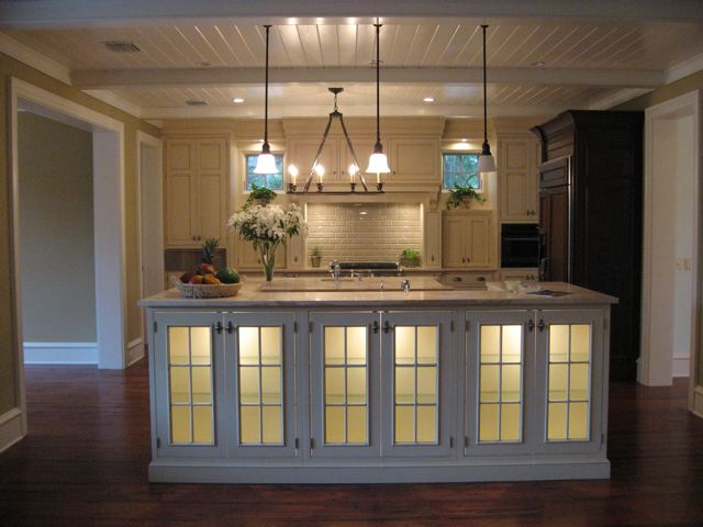 kitchen in new home custom built by Ayers Custom Homes