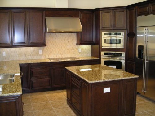 new kitchen at custom home in Orlando by Ayers Homes