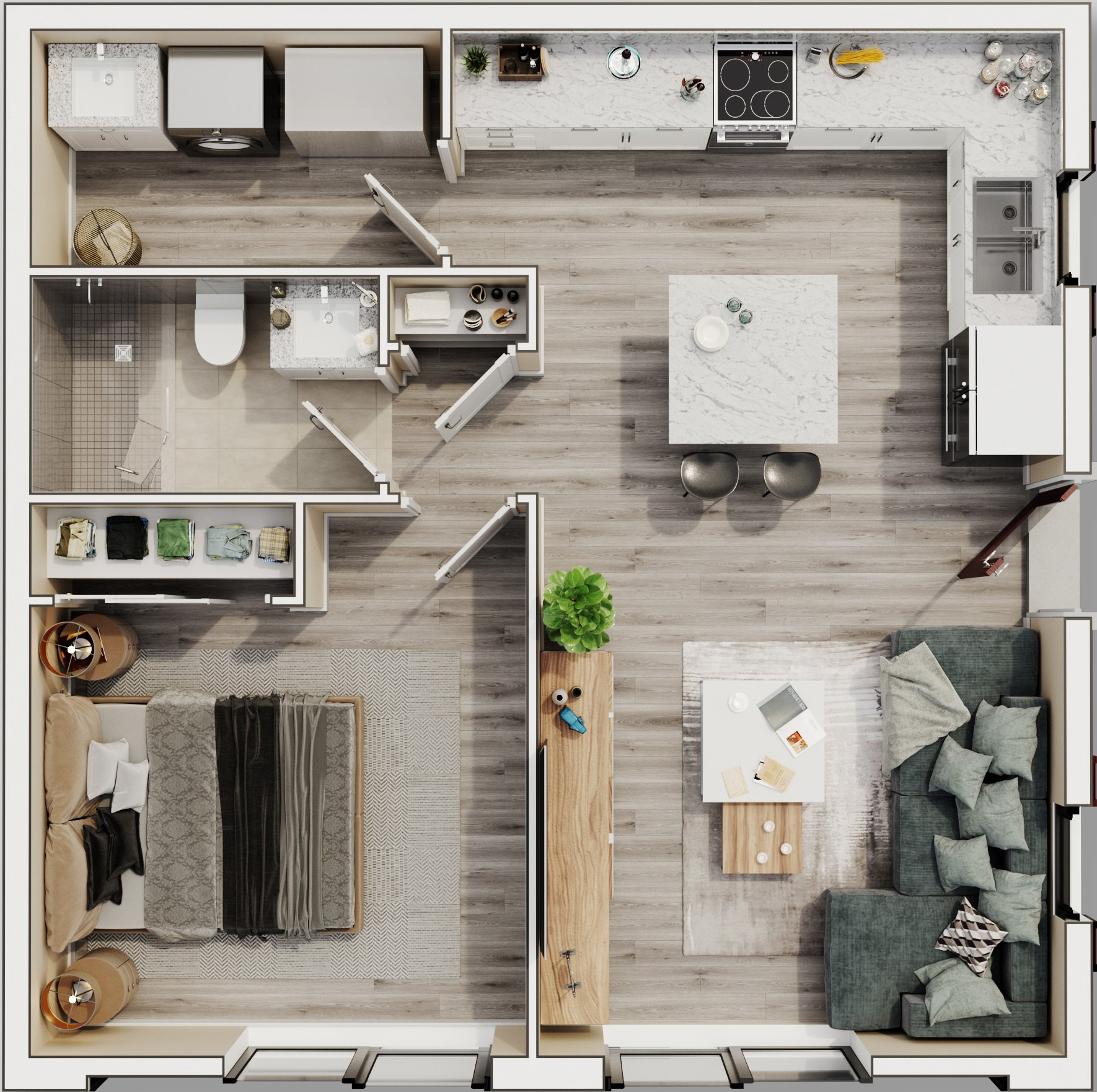 The Cottage Floorplan by Ayers Homes