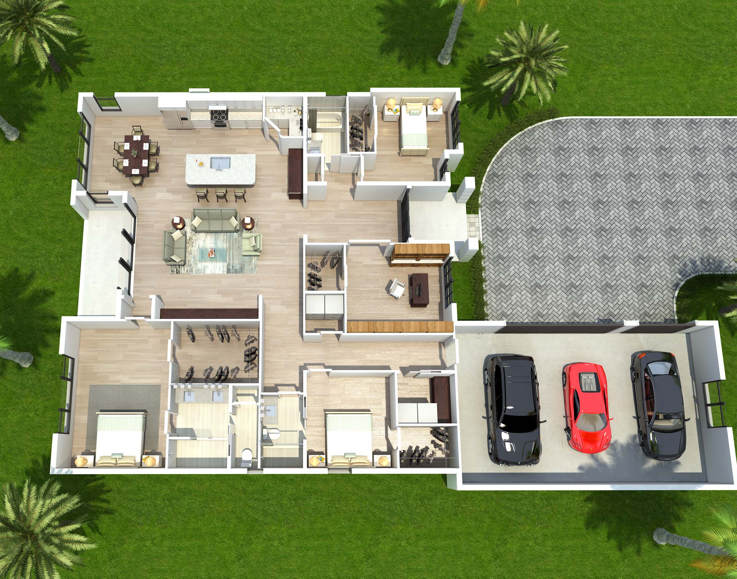 The Addison Floorplan by Ayers Homes
